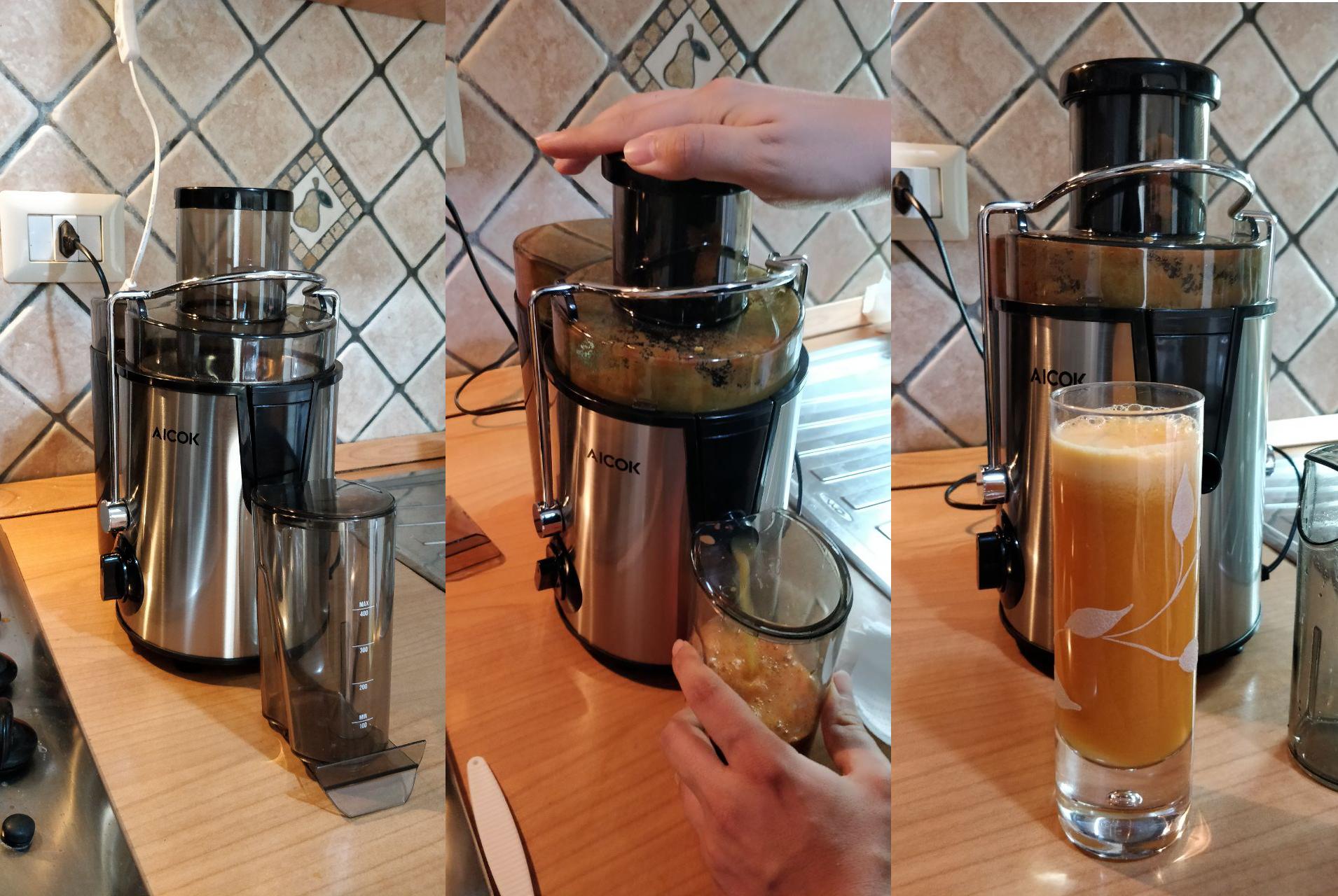 Cina in Cucina: Centrifuga Aicok estrattore di succo | Recensione