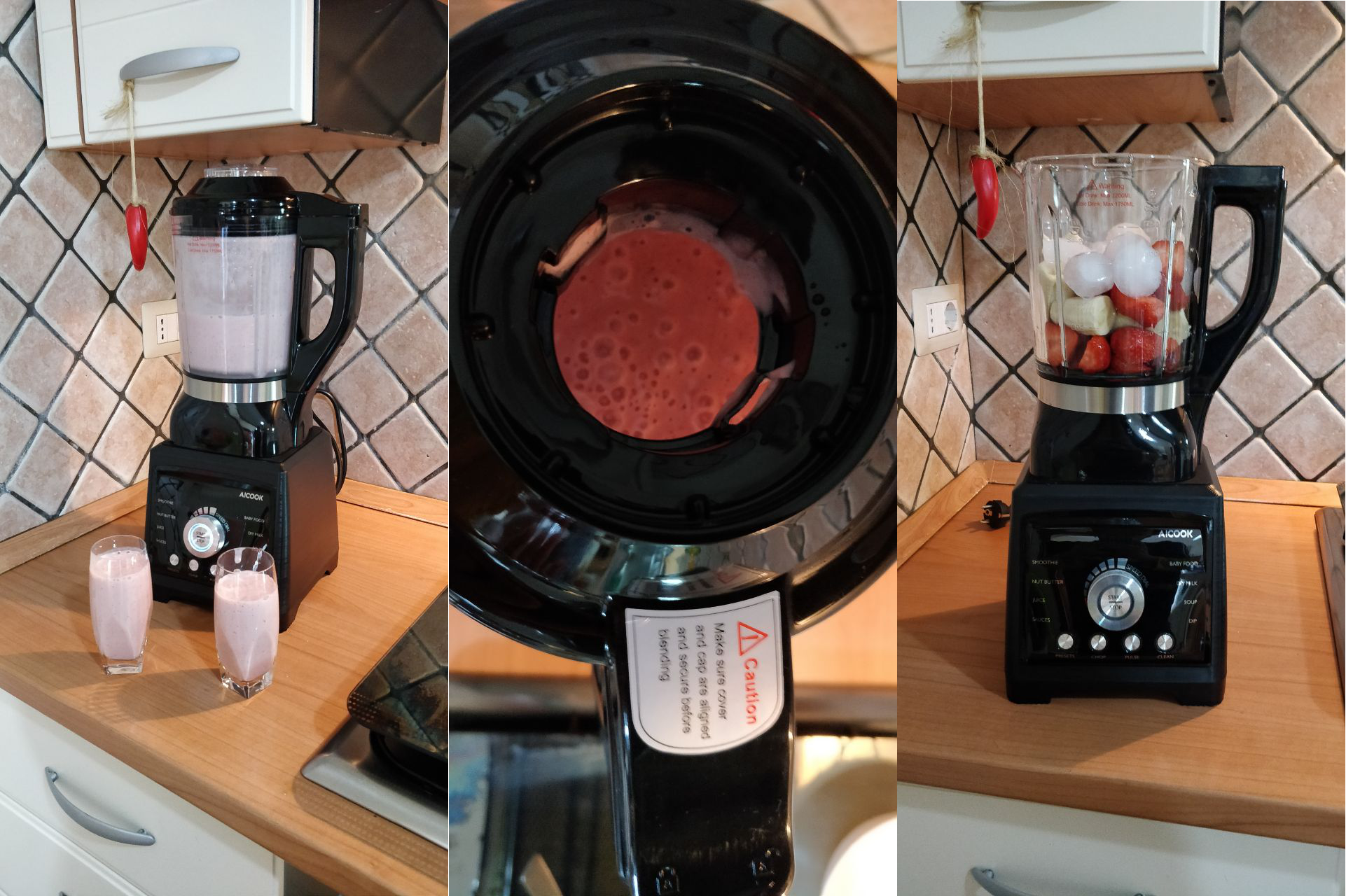 Cina in Cucina: Blender Aicook 1400W, molto più di un frullatore | Recensione