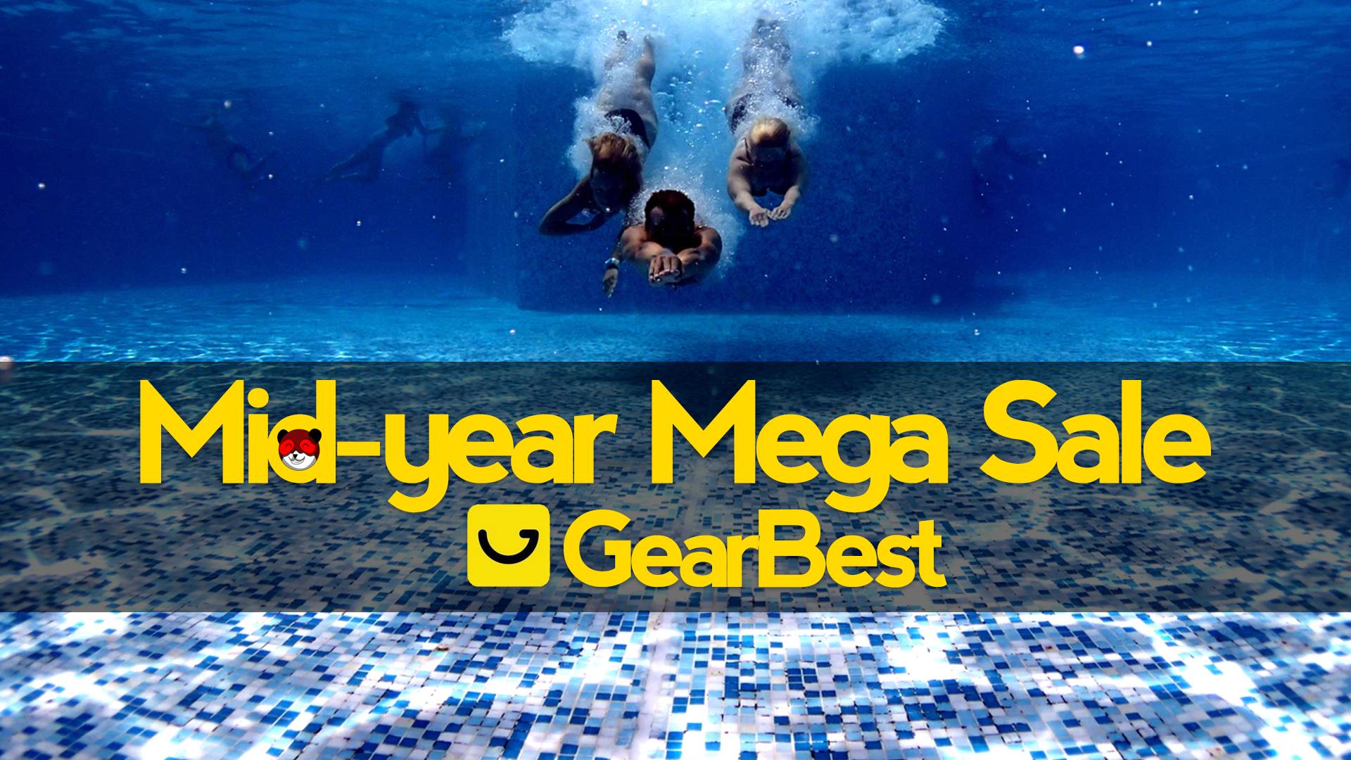 Mid-Year Mega Sale: arrivano le pazze offerte di metà anno di Gearbest!