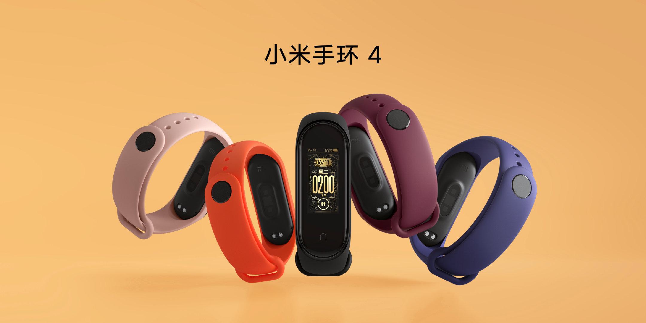 Xiaomi Mi Band 4 ufficiale con NFC e display a colori!