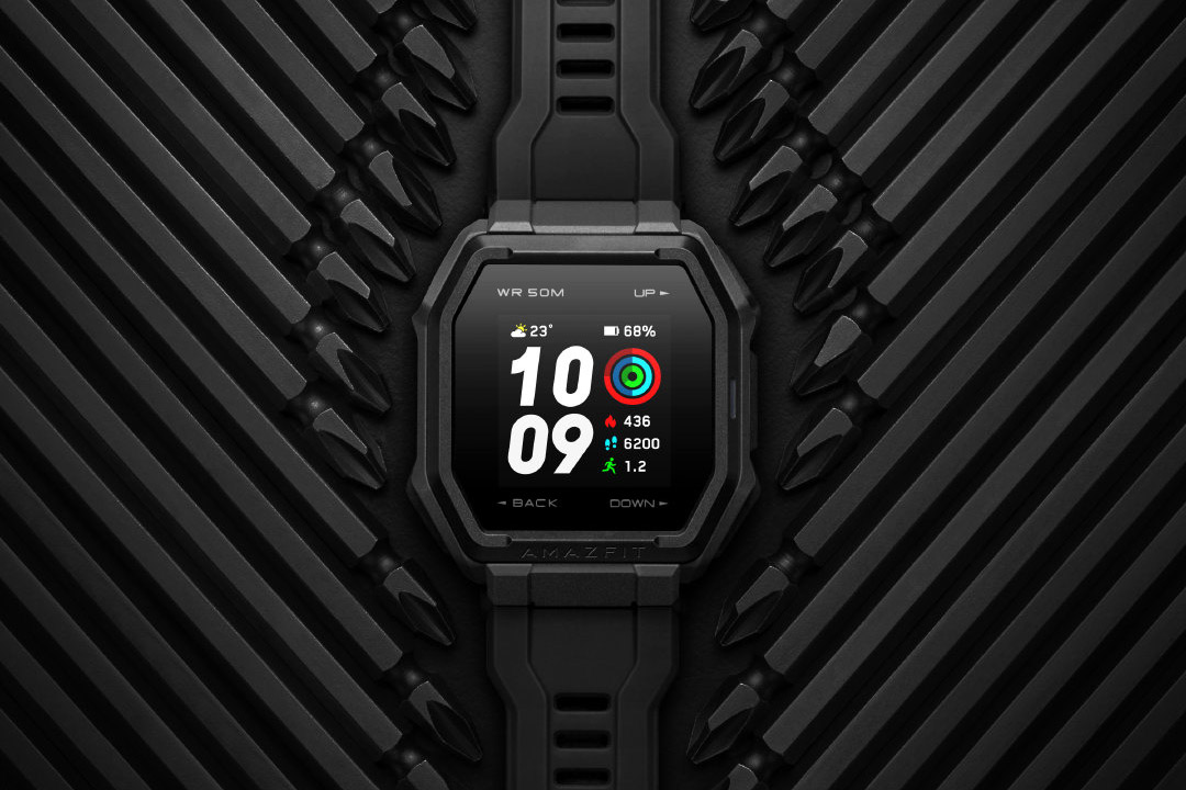 Amazfit Ares: il nuovo smartwatch con la faccia rugged e lo spirito sportivo