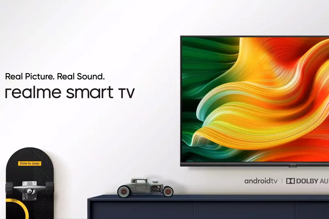 realme Smart TV ufficiale in India: i primi passi per un nuovo ecosistema