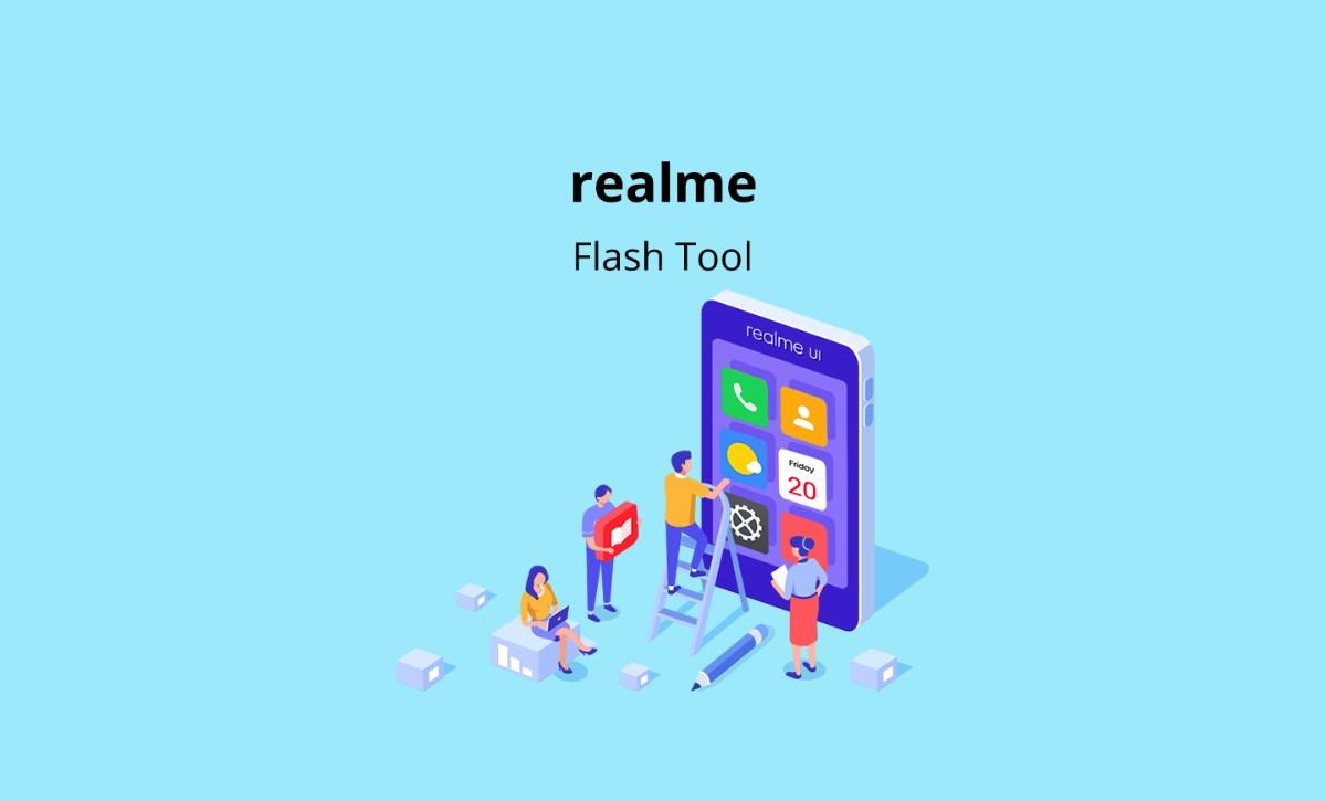 Installa gli aggiornamenti ufficiali grazie a realme Flash Tool!