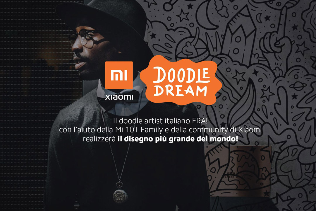 Xiaomi, Mi Community e FRA! insieme per il progetto Doodle Dream