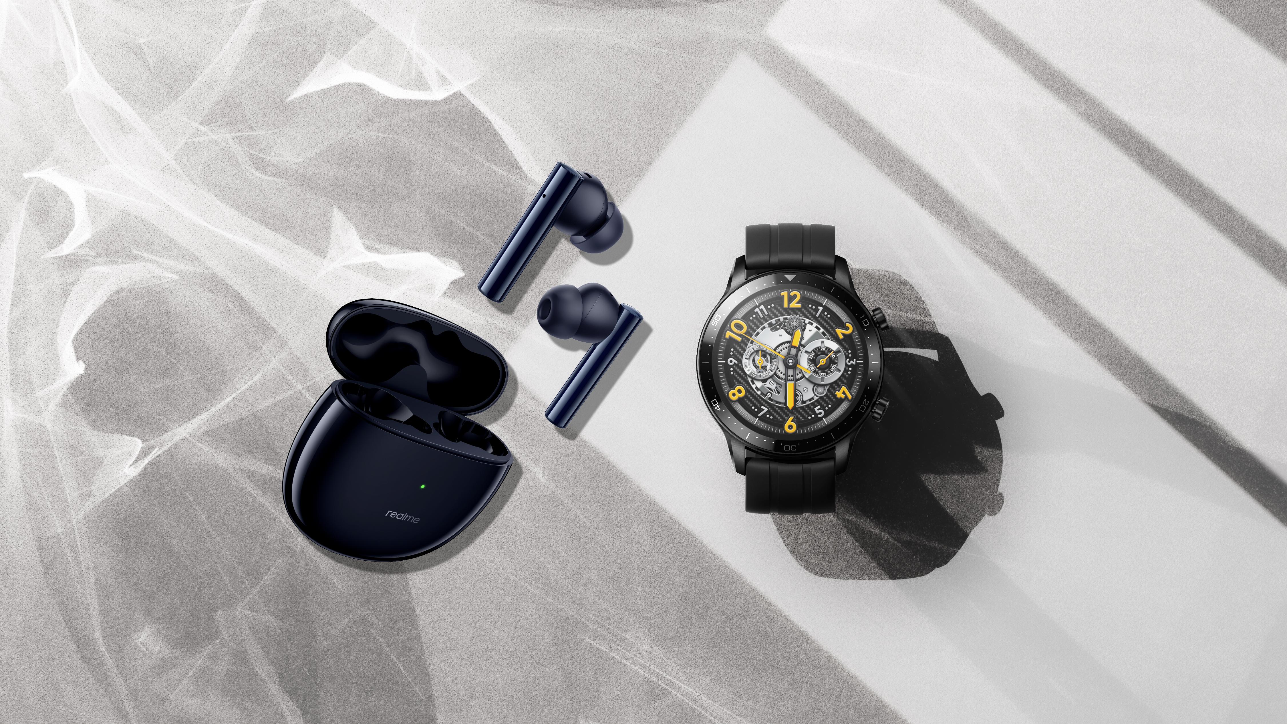 realme Watch S  Pro e Buds Air 2 ANC: ecco i nuovi wearable realme!