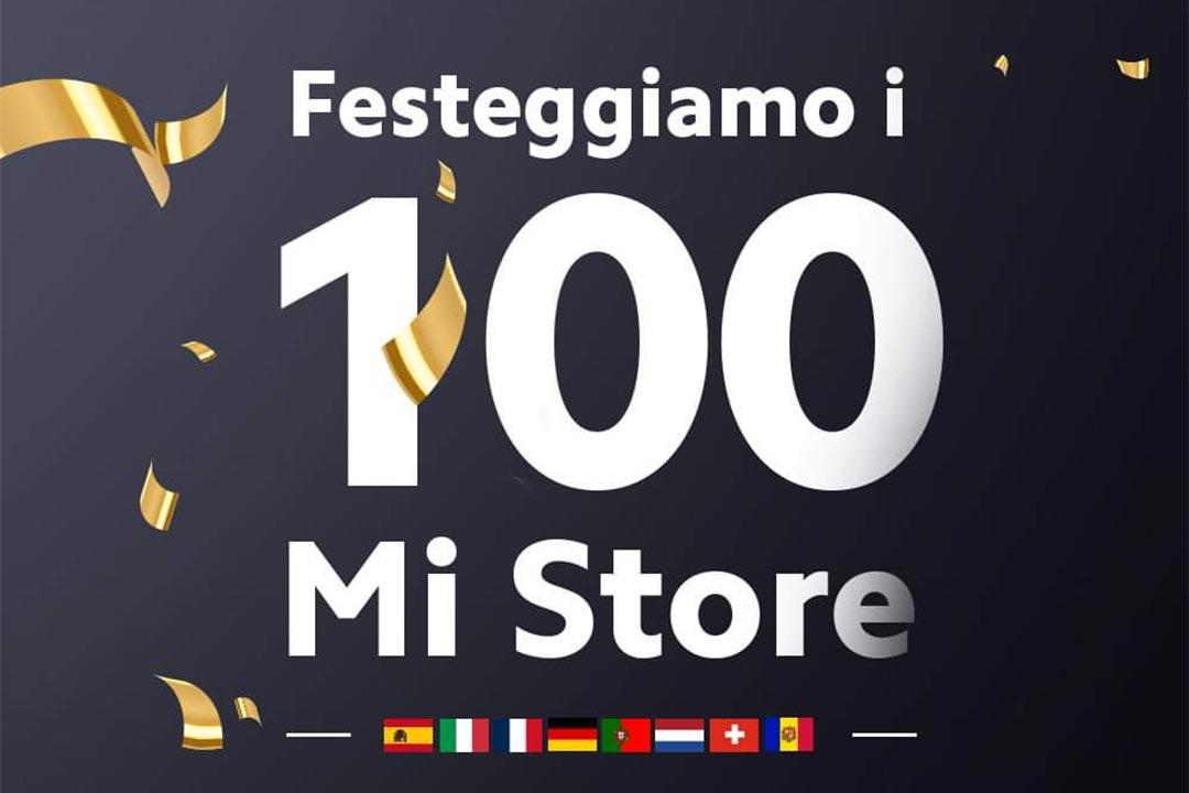Xiaomi festeggia i 100 Mi Store in Europa occidentale