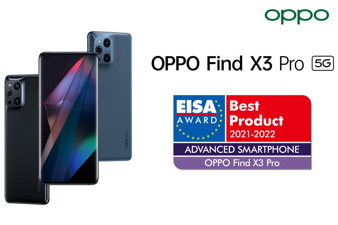 OPPO Find X3 Pro vince l'EISA AWARD 2021: è lui il più avanzato